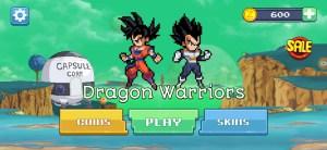 New Dragon Ball Z Game Dragon Warriors Apk