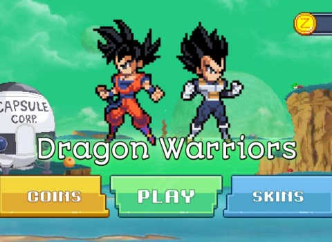 New Dragon Ball Z Game Dragon Warriors Apk