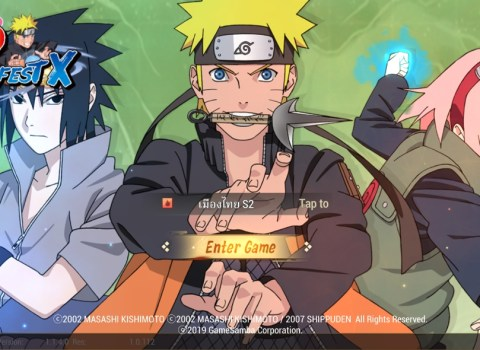 Naruto Slugfest X for Android and iOS Download