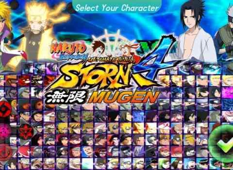 Naruto Shippuden Ultimate Ninja Storm 4 Mugen Apk