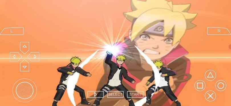 Naruto X Boruto and Boruto Road psp games for PSP