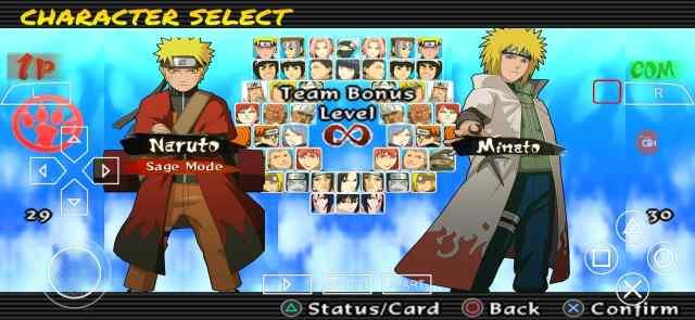 Naruto Ultimate Ninja Impact Storm 2 PSP ISO Download