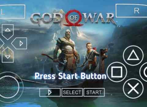 God of War 4 PSP ISO Download