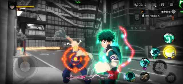 My Hero Academia 3D game for Android and iOS