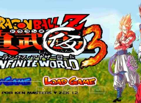 Dragon Ball Z Infinite World Android PSP ISO