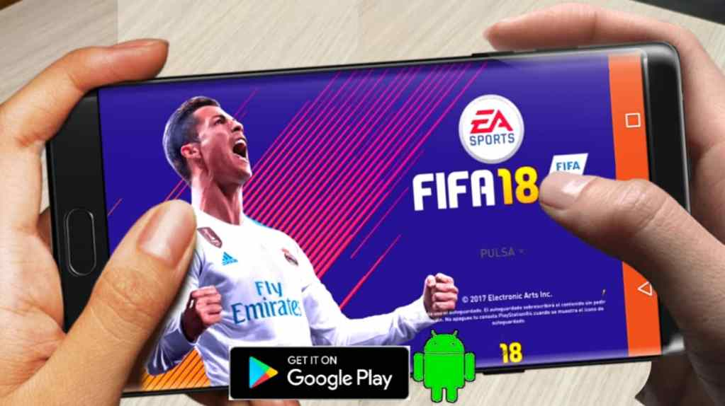 FIFA 18 Mobile for Android Apk + OBB data