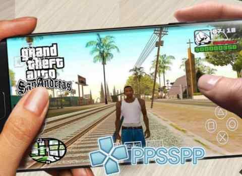 GTA San Andreas PPSSPP Zip file Download