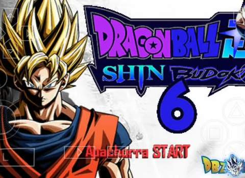 Dragon Ball Z Shin Budokai 6 PPSSPP Download ISO