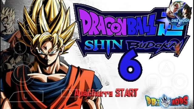 Dragon Ball Z Shin Budokai 6 PPSSPP Download ISO