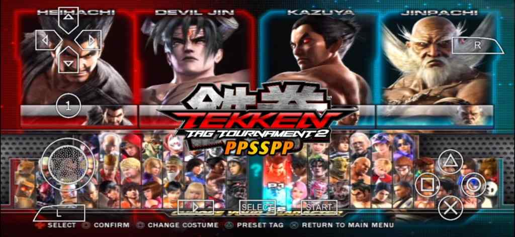 Tekken Tag Tournament 2 PPSSPP Android