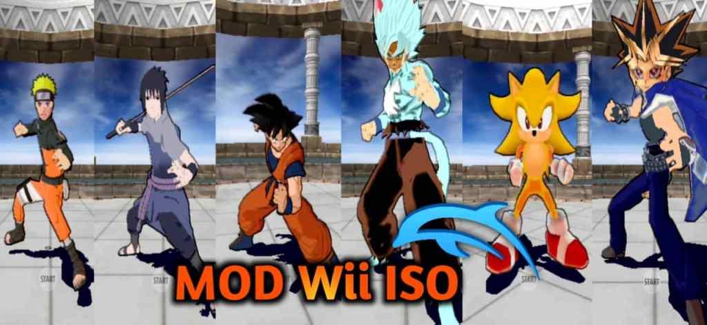 DBZ BT3 MOD Wii ISO Download