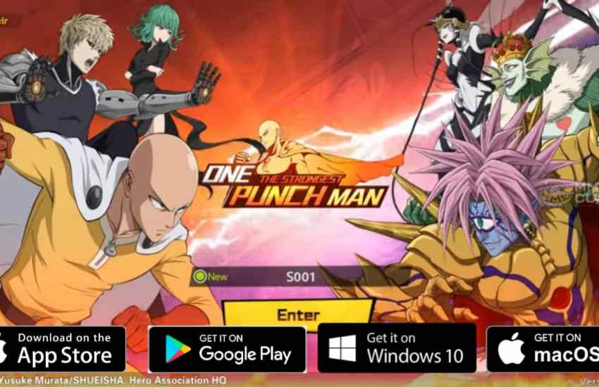 One Punch Man The Strongest Download PC