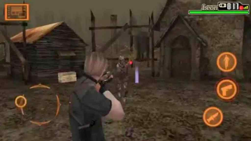 Resident Evil 4 Android gameplay
