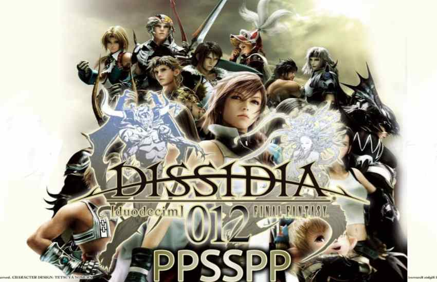 Dissidia 012 Final Fantasy PPSSPP Download