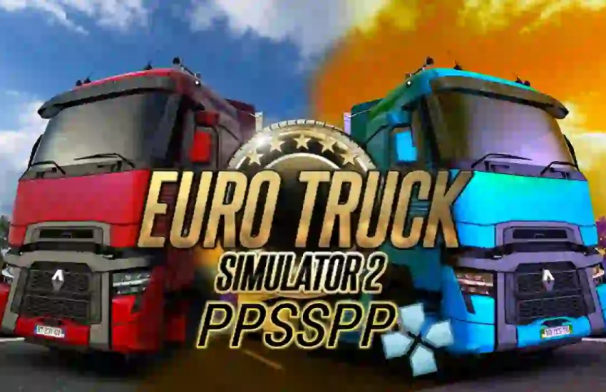 Euro Truck Simulator 2 PPSSPP ISO ROM