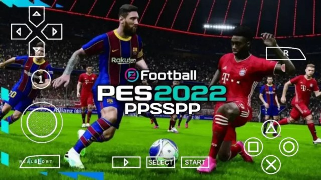 Pes 2022 PPSSPP Gameplay