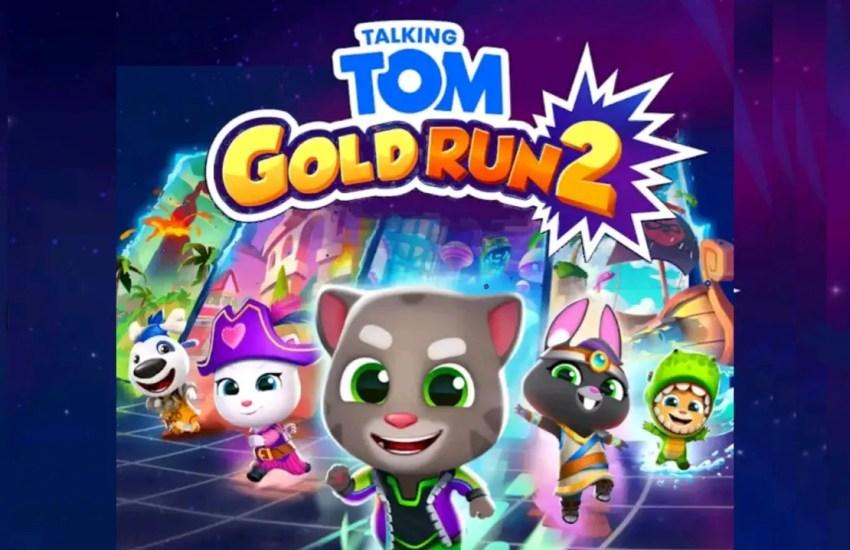 Talking Tom Gold Run 2 Apk