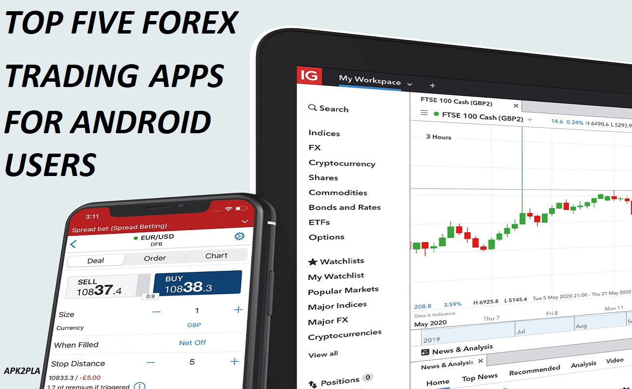 Logo of Top 5 Forex Trading Apps