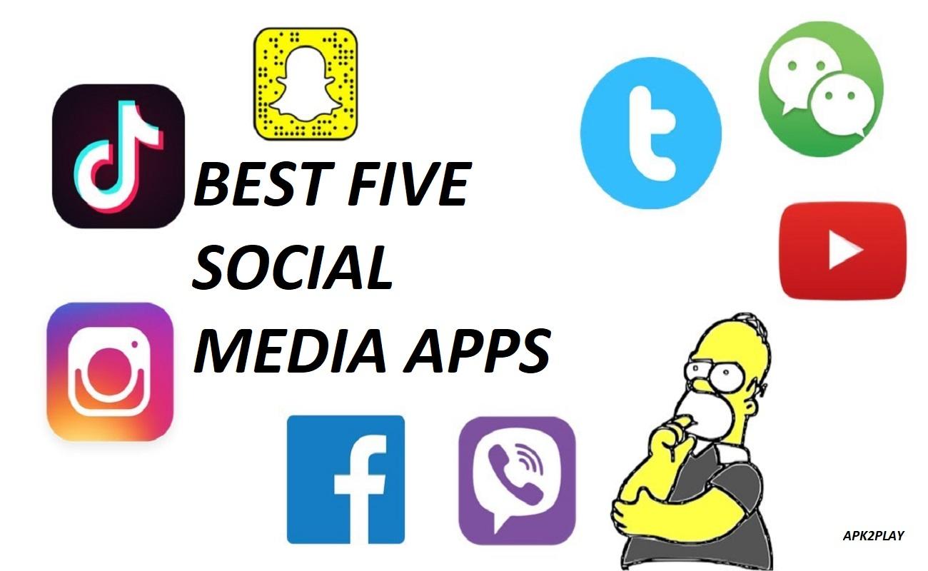 Logo of Top Five Social Media Apps