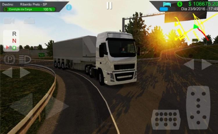 Screenshot of Heavy Truck Simulator