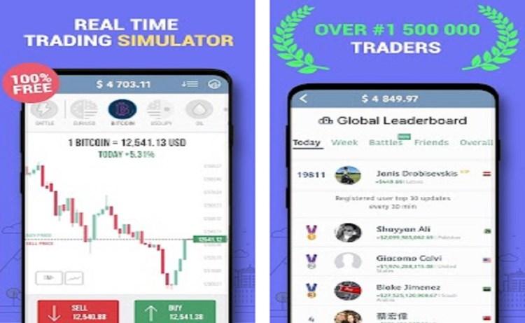 Screenshot of Trading Game