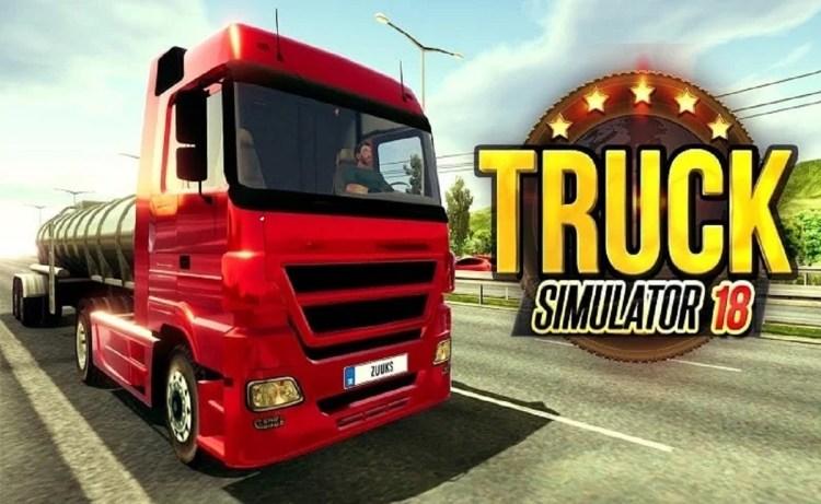 Screenshot of Truck Simulator 2018