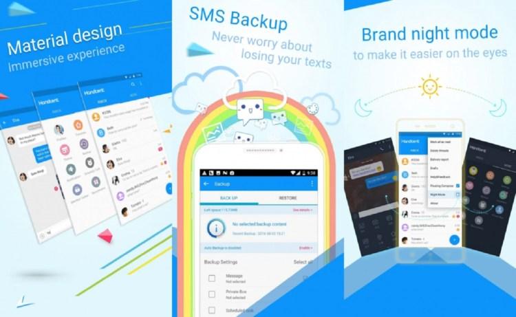 Screenshot Handcent Next SMS
