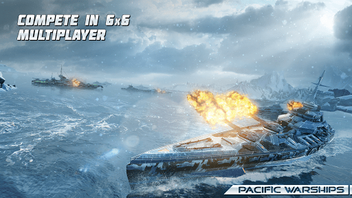 Pacific Warships: Naval PvP MOD APK