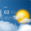 Transparent clock & weather Pro v0.90.04.02 [Latest]