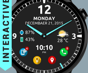Ultra Watch Face Premium v1.6.7 [Unlocked] [Latest]