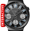 Brushed Steel HD Watch Face Premium v2.4.7.1 Unlocked [Latest]