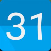 Calendar Widgets : Month Agenda calendar widget