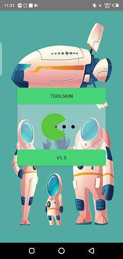 Screenshot of Tool Skin Apk