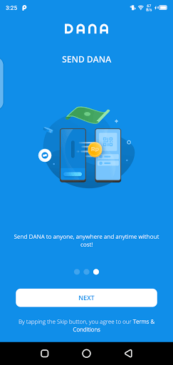 Screenshot of Get Dana Online Apk
