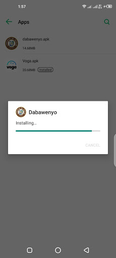 Screenshot of Dabawenyo App