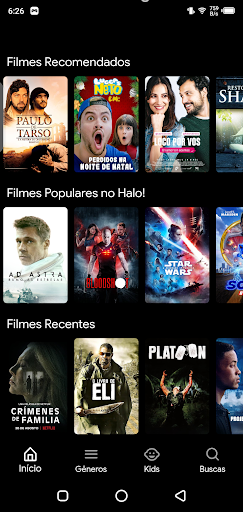 Screenshot of Hola Filmes Apk