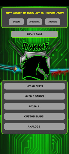 Screenshot of Mykkie Skin Injector ML
