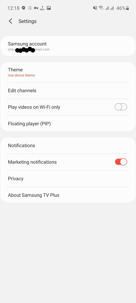 Screenshot of Samsung TV Plus Apk Download