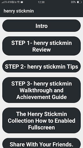 Screenshot of Henry Stickmin Collection Game