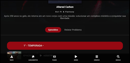 Screenshot of Pobreflix Apk