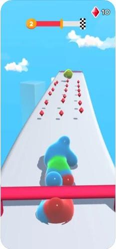 Screenshot of Blob runner 3D Apk
