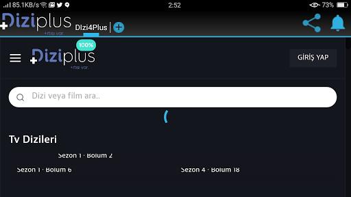 Screenshot of Dizi Plus