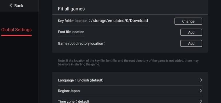 Screenshot of Egg NS Emulator