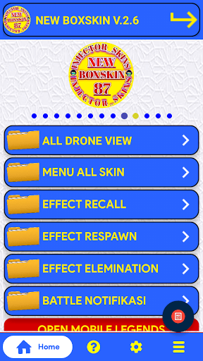 Screenshot of New Box Skin ML