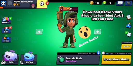 Screenshot of Nice Brawl App