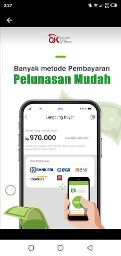 Screenshot of Adakami loan App
