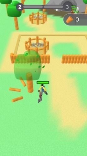 Screenshot of Lumbercraft Apk