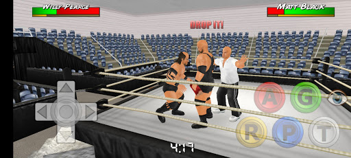 Screenshot of Wrestling Empire Download