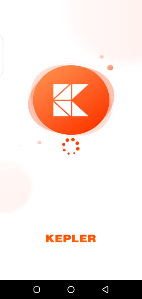 Screenshot of Kepler App