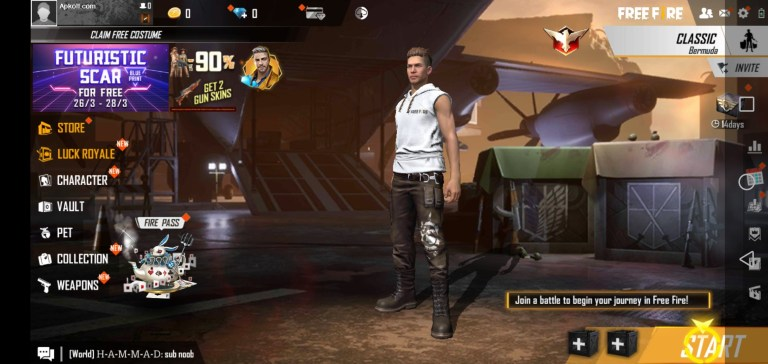 Screenshot of Mod Menu Free Fire 2021 Download
